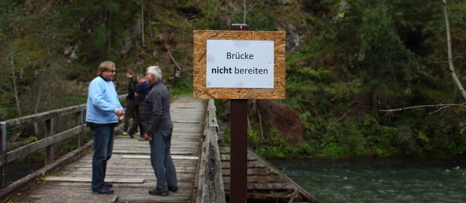 Hochwasser, Heidi Alm und klare Möll !